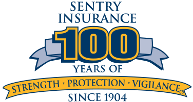 Sentry Insurance 100 Years logo