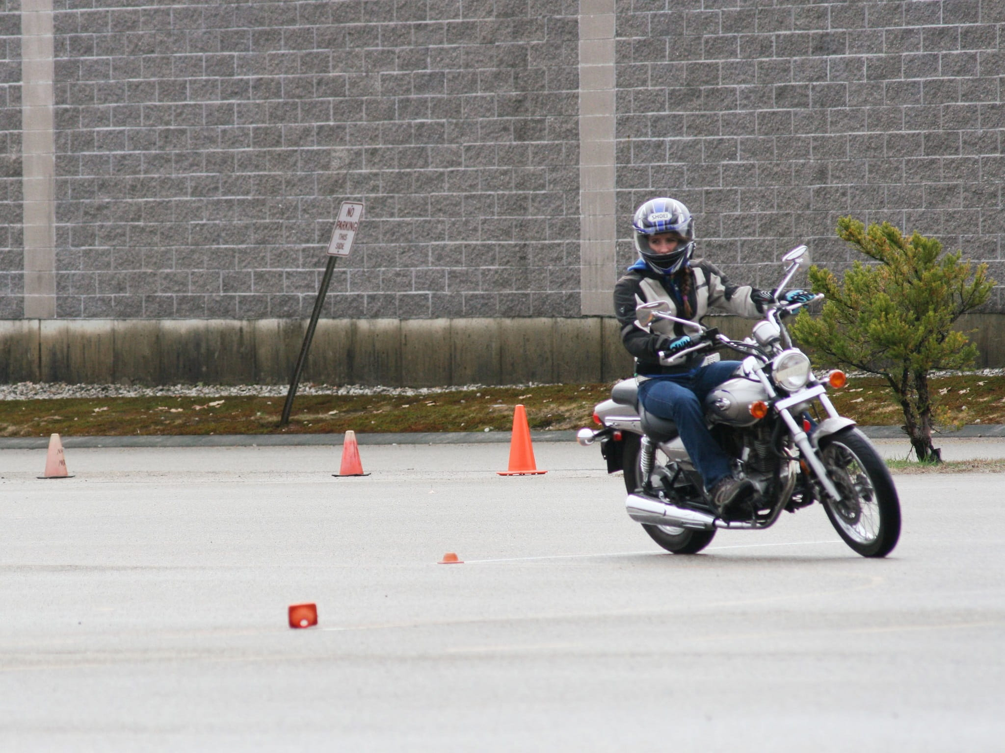 Rider safety course
