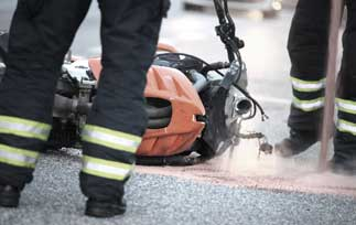 What to do after a motorcycle accident | Dairyland® motorcycle