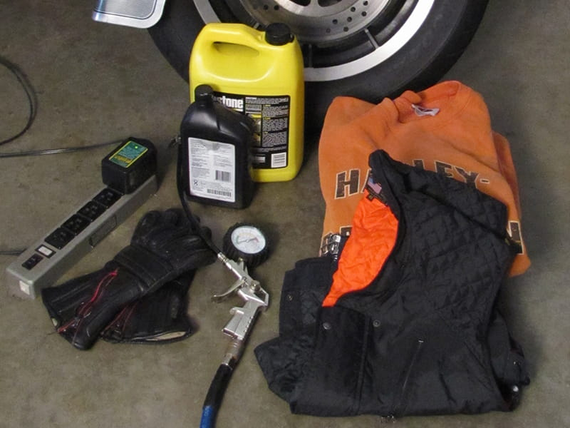 Fall motorcycle gear
