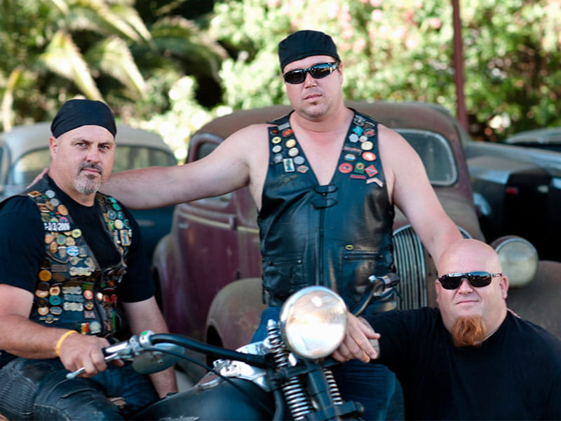 Gypsy motorcycle riders