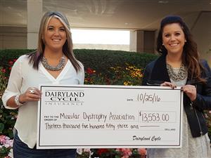 Dairyland Cycle raises $13,553 for MDA at Tomahawk Fall ...