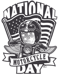 National Motorcycle Day Logo
